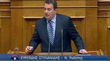 Ο Ευριπίδης Στυλιανίδης στη Βουλή για τον Κρατικό Προϋπολογισμό του 2011