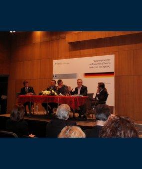 Στυλιανίδης: Δημόσια Συζήτηση «Διαμορφώνοντας μία Ευρωπαϊκή Ένωση ανθεκτική στις κρίσεις»