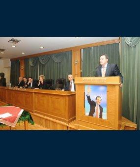 Ο Ευριπίδης Στυλιανίδης στην εκδήλωση της Τοπικής Οργάνωσης Σερρών