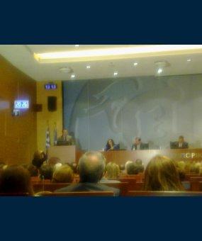 Ο Ευριπίδης Στυλιανίδης σε εκδήλωση του Συνδέσμου Ιδιωτικών Εκπαιδευτηρίων