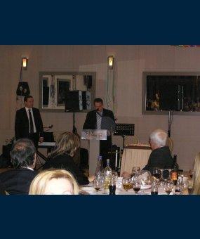 Ο Ευριπίδης Στυλιανίδης στην ετήσια εκδήλωση της ΝΟΔΕ Μαγνησίας